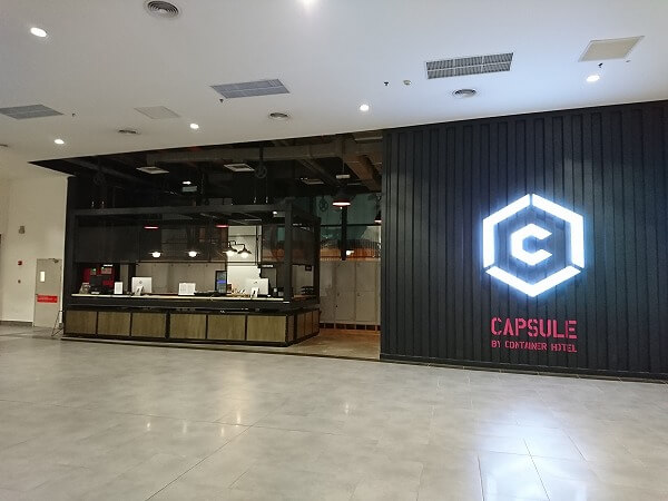 クアラルンプールでの乗り継ぎに便利なホテル「カプセル バイ コンテイナー ホテル (Capsule by Container Hotel)」