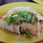 乗継時間を利用してシンガポールのチャイナタウンにチキンライス(天天海南鶏飯)を食べに行く