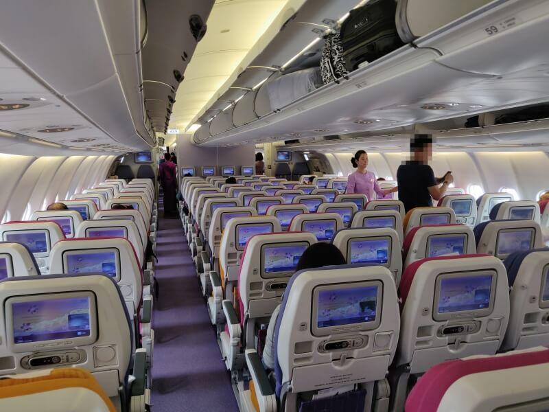 タイ国際航空TG628 「バンコク ー 香港」搭乗記
