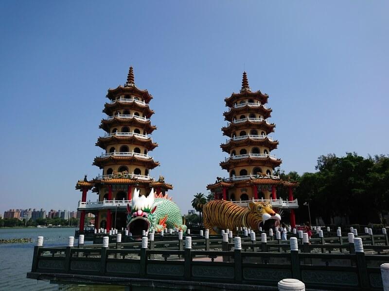 台湾 高雄の有名観光地、蓮池潭に行ってきました