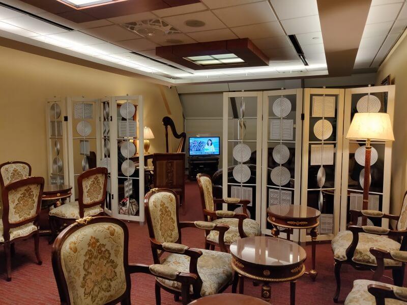 台北桃園国際空港の「More Premium Lounge モア プレミアムラウンジ」