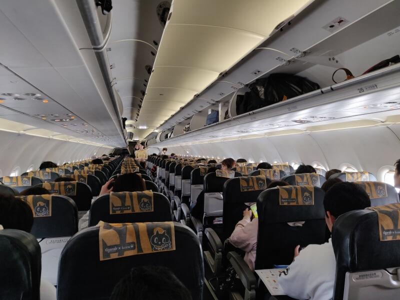 タイガーエア台湾(IT211便) 関空ー台北 搭乗記
