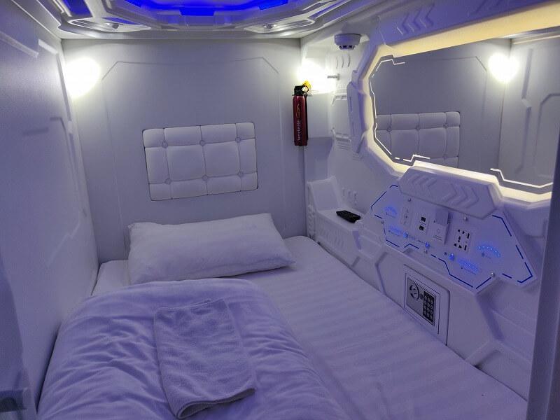 ウラジオのおすすめカプセルホテル「カプセル ホテル ゾディアック」に宿泊