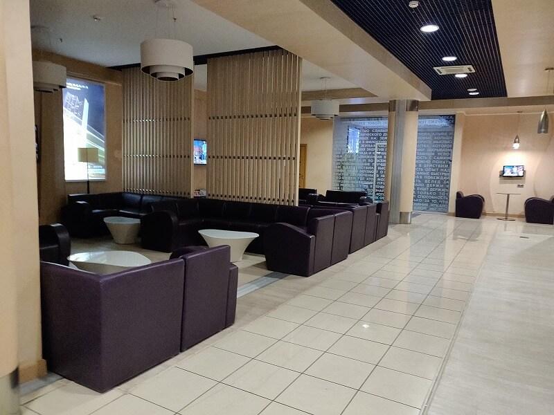 ウラジオストク空港の「Primorye Lounge(プリモイエ ラウンジ)」