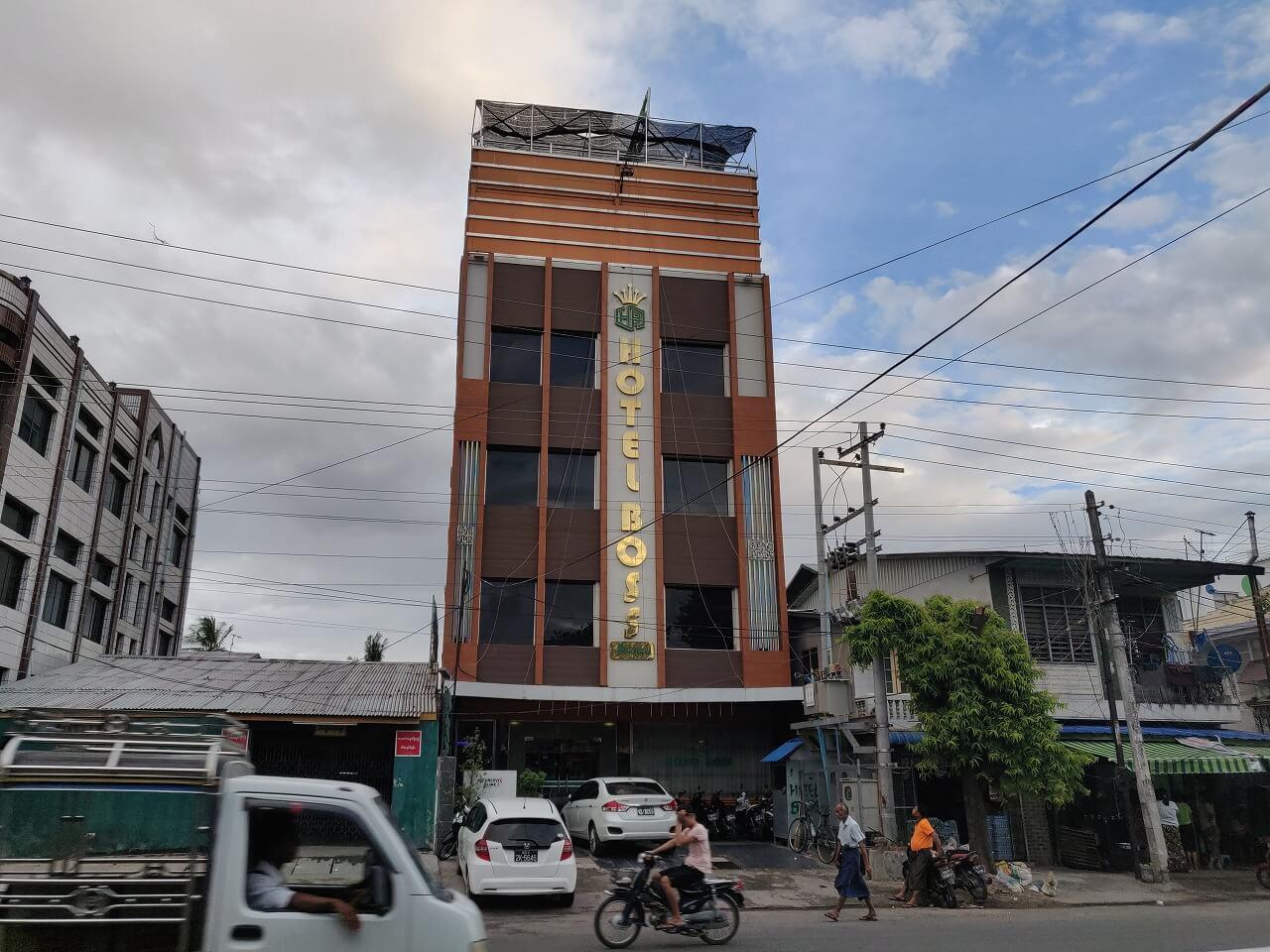 マンダレー「ホテル ボス (Hotel Boss)」に宿泊、2000円以下で個室の格安宿