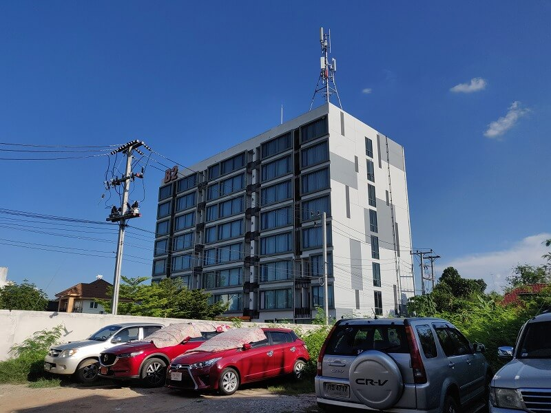 B2 コンケーン ホテル (B2 Khon Kaen Hotel) 2000円以下で宿泊できるビジネスホテル