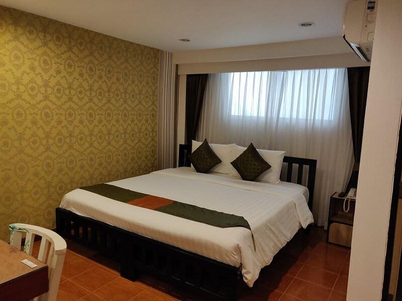便利な立地のバンコク格安ホテル「ブリソテル ラチャダ (Blissotel Ratchada)」宿泊