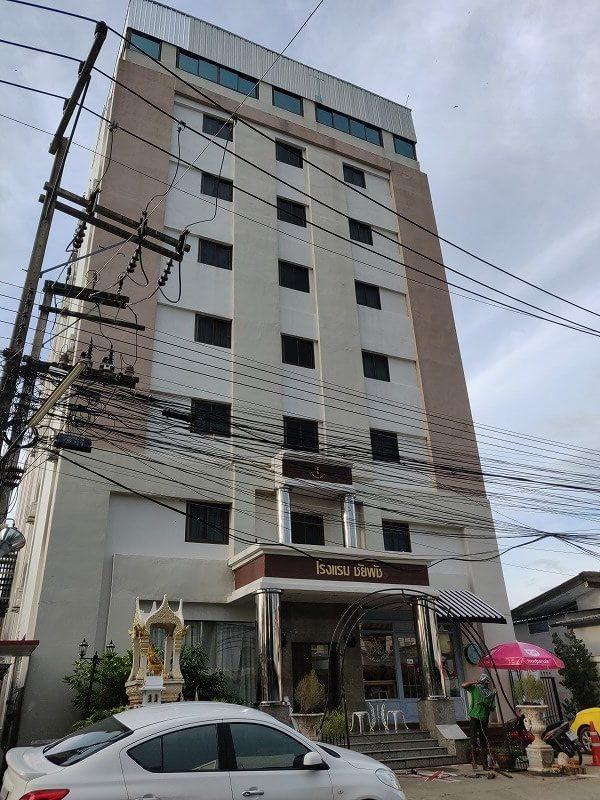 コンケーンの格安宿「チャイパット ホテル (Chaipat Hotel)」は1000円台で宿泊可能