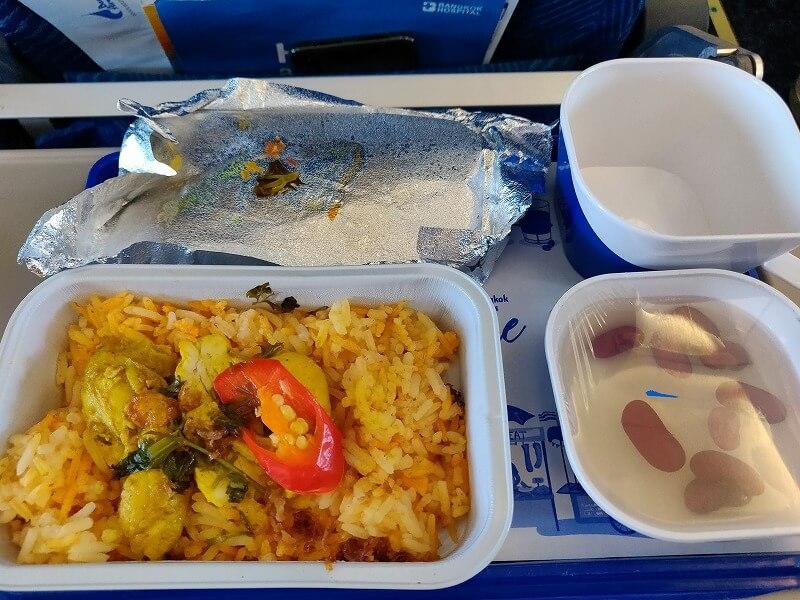 バンコク・エアウェイズ  PG710便 ミャンマー マンダレーからバンコク スワンナプーム空港行きに搭乗