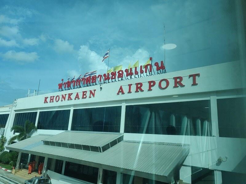 タイ エアアジア FD 3260便 バンコクからコーンケン空港行きに搭乗
