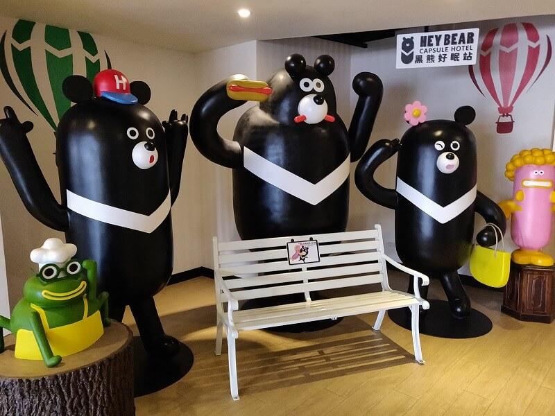 鍵付き扉ありのカプセルホテル「台北 Hey Bear Capsule Hotel」はコスパ高い