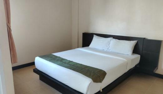 コンケーン駅近くの清潔な格安ホテル「Bann Vor Sumongkol Services Apartment」