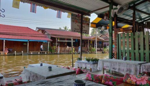 アンパワー水上マーケット沿いのホテル「バアンラク アムパワー (Baanrak Amphawa)」